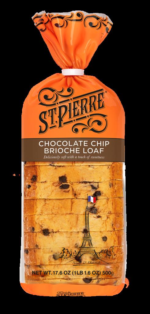 St Pierre Chocolate Chips Brioche Loaf