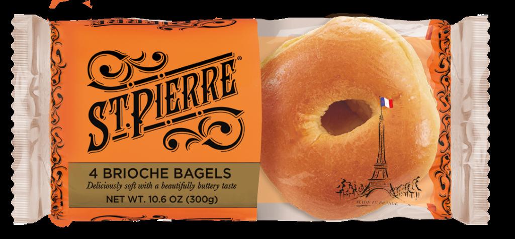 St Pierre Brioche Bagels