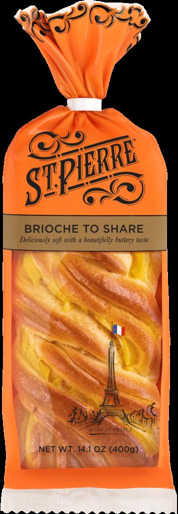 St Pierre Brioche To Share