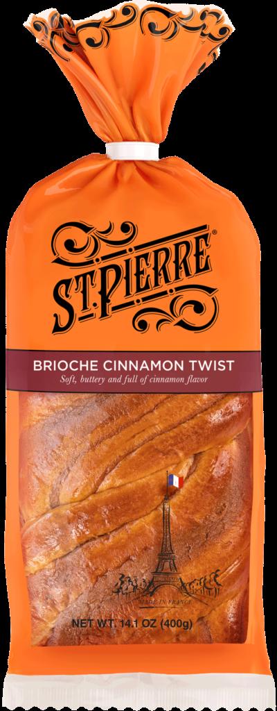 St Pierre Brioche Cinnamon Twist