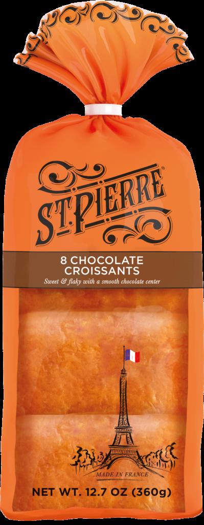 St Pierre 8 Chocolate Croissants