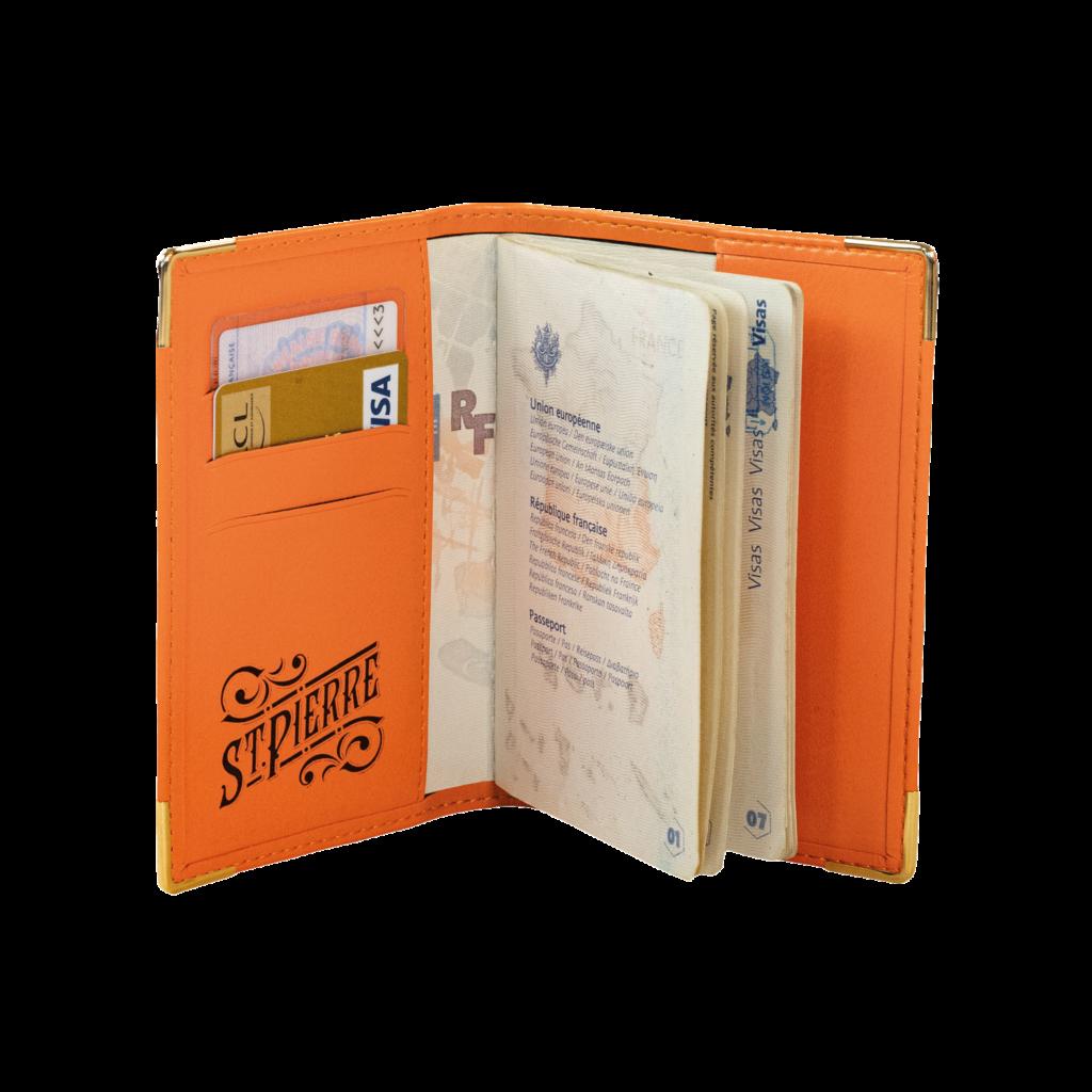 St Pierre Passport Cover